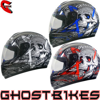 View Item MT Thunder Skull Motorcycle Helmet