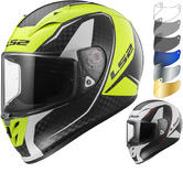 LS2 FF323 Arrow C Evo Fury Carbon Motorcycle Helmet & Visor