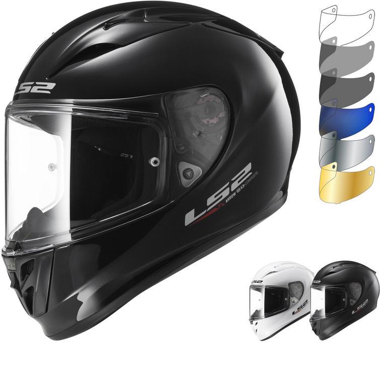 LS2 FF323 Arrow R Evo Solid Motorcycle Helmet & Visor