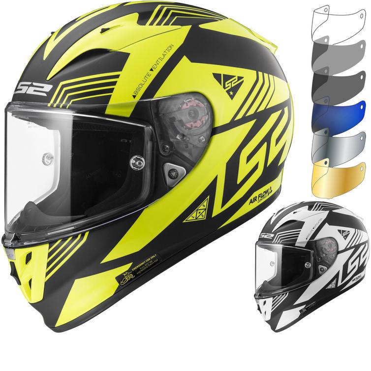 LS2 FF323 Arrow R Evo Neon Motorcycle Helmet & Visor
