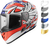 LS2 FF323 Arrow R Evo Freedom Motorcycle Helmet & Visor