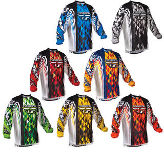 View Item Fly Racing 2012 Kinetic Motocross Jersey