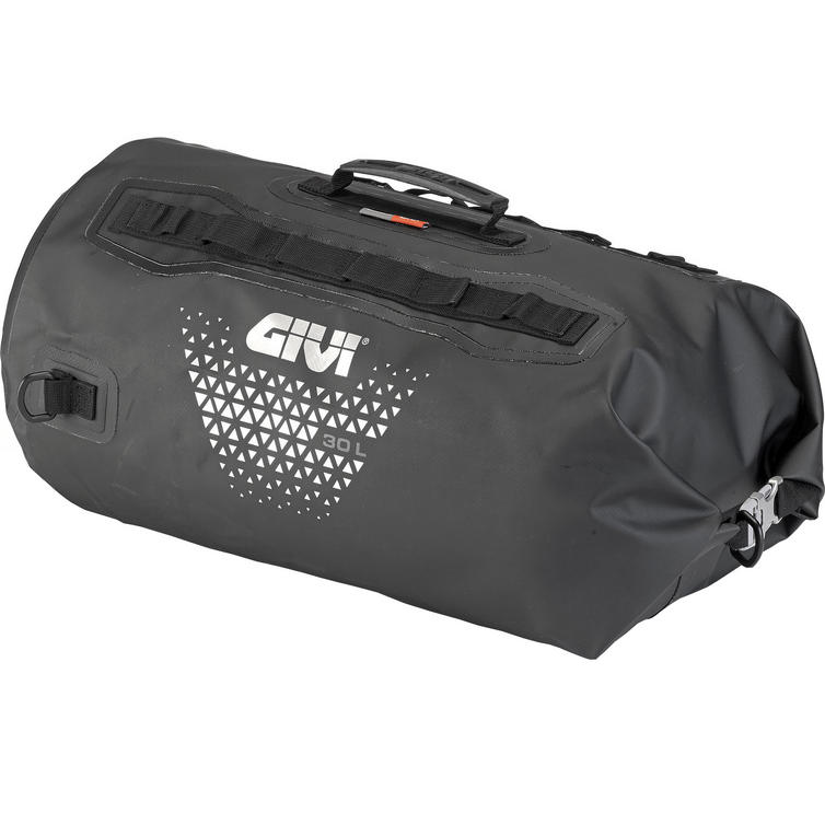 Givi Ultima-T Range Waterproof Dry-Roll Bag 30L Black (UT801)