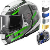 LS2 FF397 Vector Titan Motorcycle Helmet & Visor
