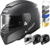 LS2 FF390 Breaker Solid Motorcycle Helmet & Visor