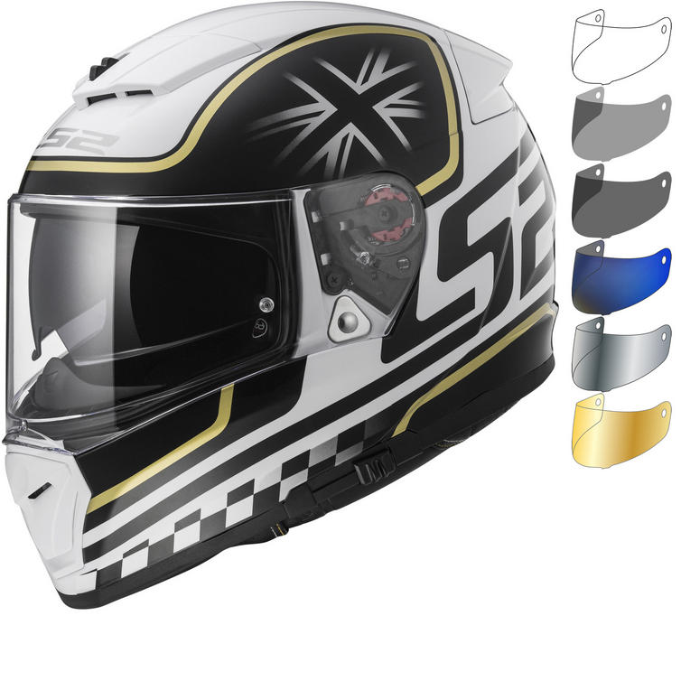LS2 FF390 Breaker Classic Motorcycle Helmet & Visor