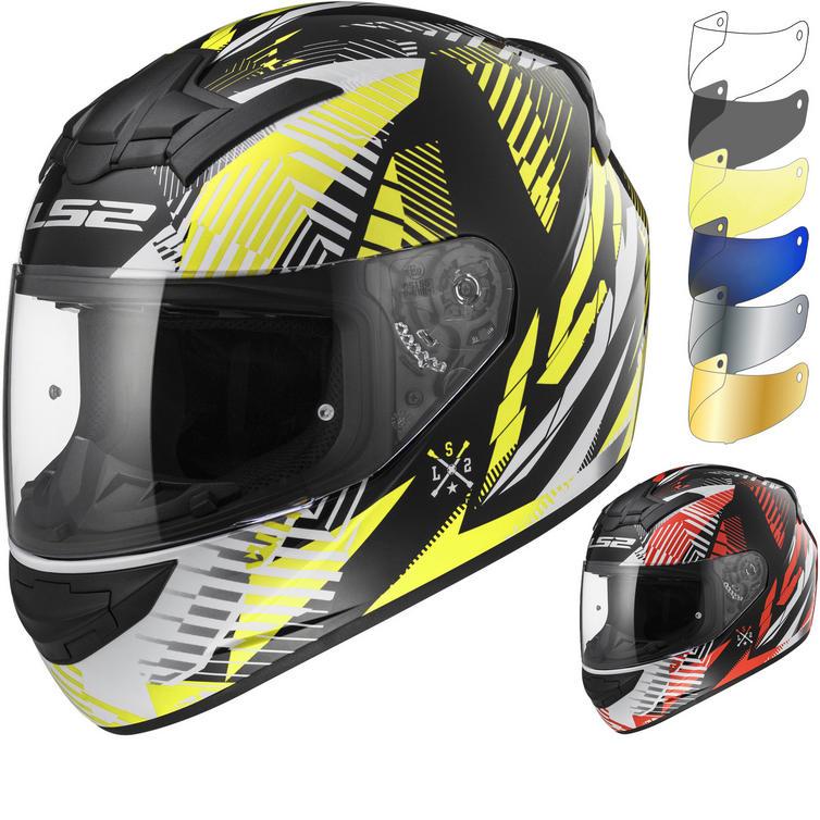 LS2 FF352 Rookie Infinite Motorcycle Helmet & Visor