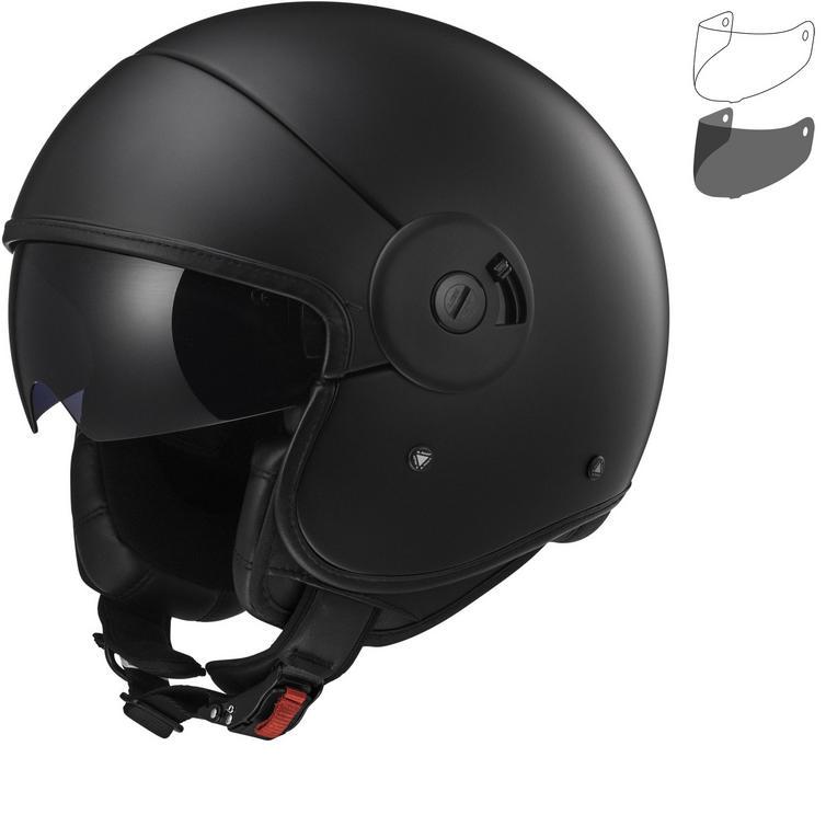 LS2 OF597 Cabrio Full Open Face Motorcycle Helmet & Visor