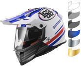 LS2 MX436 Pioneer Quarterback Dual Sport Helmet & Visor
