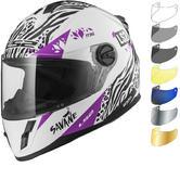 LS2 FF392J Kid Savane Youth Motorcycle Helmet & Visor