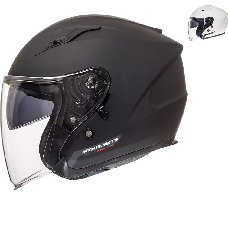 MT Avenue SV Solid Open Face Motorcycle Helmet