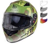 MT Mugello Leopard Motorcycle Helmet & Visor