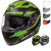 MT Mugello Vapour Motorcycle Helmet & Visor
