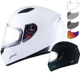 MT Mugello Solid Motorcycle Helmet & Visor