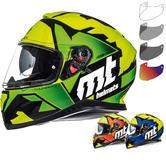 MT Thunder 3 SV Torn Motorcycle Helmet & Visor