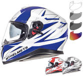 MT Thunder 3 SV Effect Motorcycle Helmet & Visor