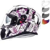 MT Thunder 3 SV Wild Garden Motorcycle Helmet & Visor
