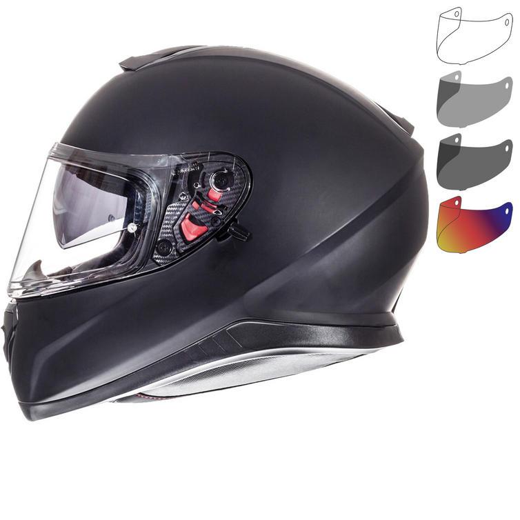 MT Thunder 3 SV Solid Motorcycle Helmet & Visor
