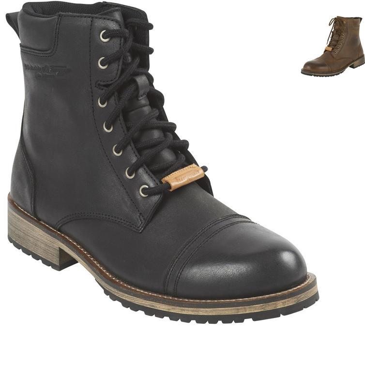 Furygan Caprino D3O Sympatex Leather Motorcycle Boots
