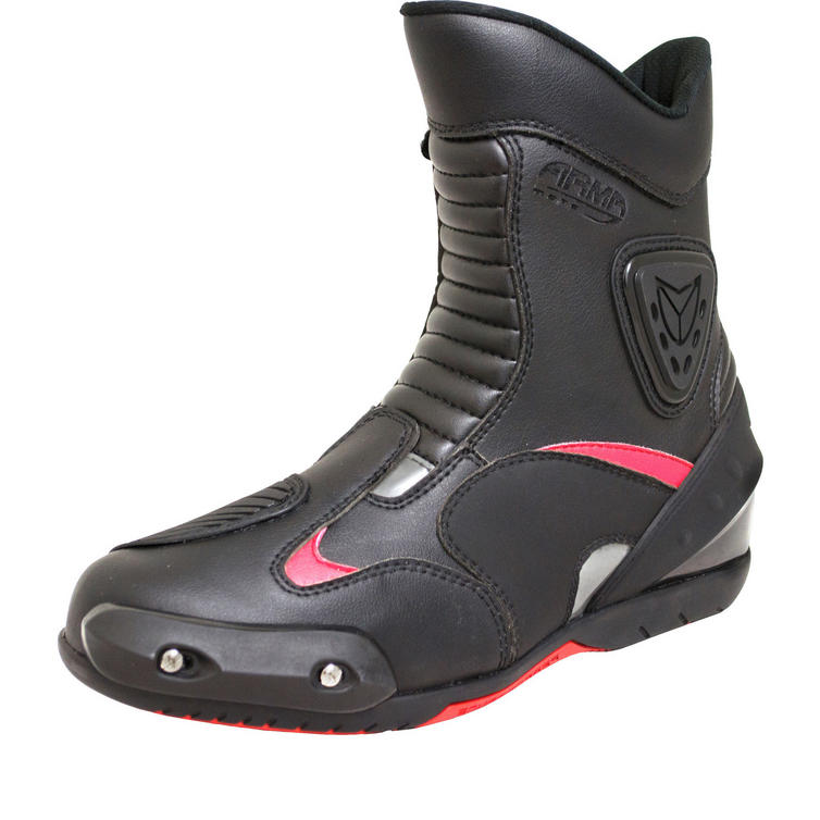ARMR Moto Kono Leather Motorcycle Boots