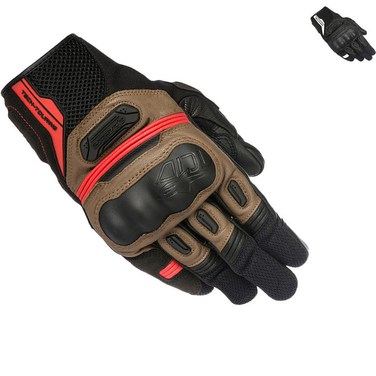 Alpinestars Highlands Leather Motorcycle Gloves