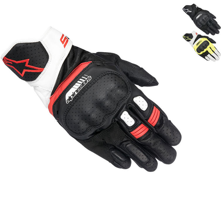 Alpinestars SP-5 Leather Motorcycle Gloves