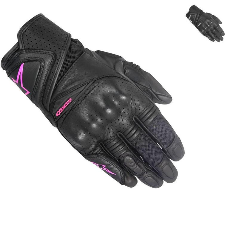 Alpinestars Stella Baika Ladies Leather Motorcycle Gloves