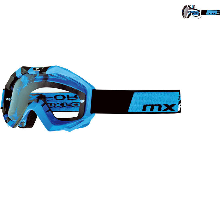 MX Force Magen Cube Motocross Goggles