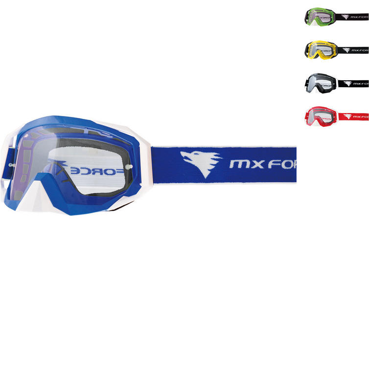 MX Force Nimbus Solid Motocross Goggles