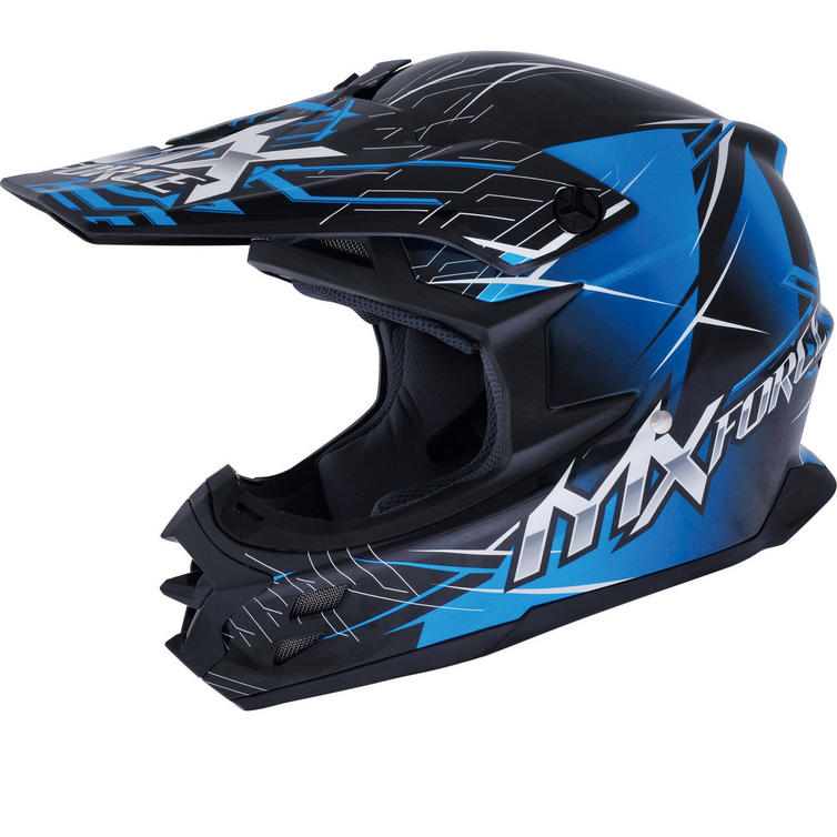 MX Force Marshal Luster Motocross Helmet