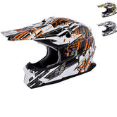 MX Force Race Shiver Motocross Helmet