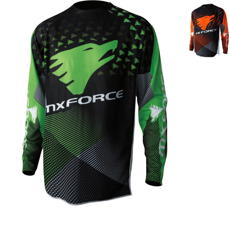 MX Force Tackle Mirage Motocross Jersey