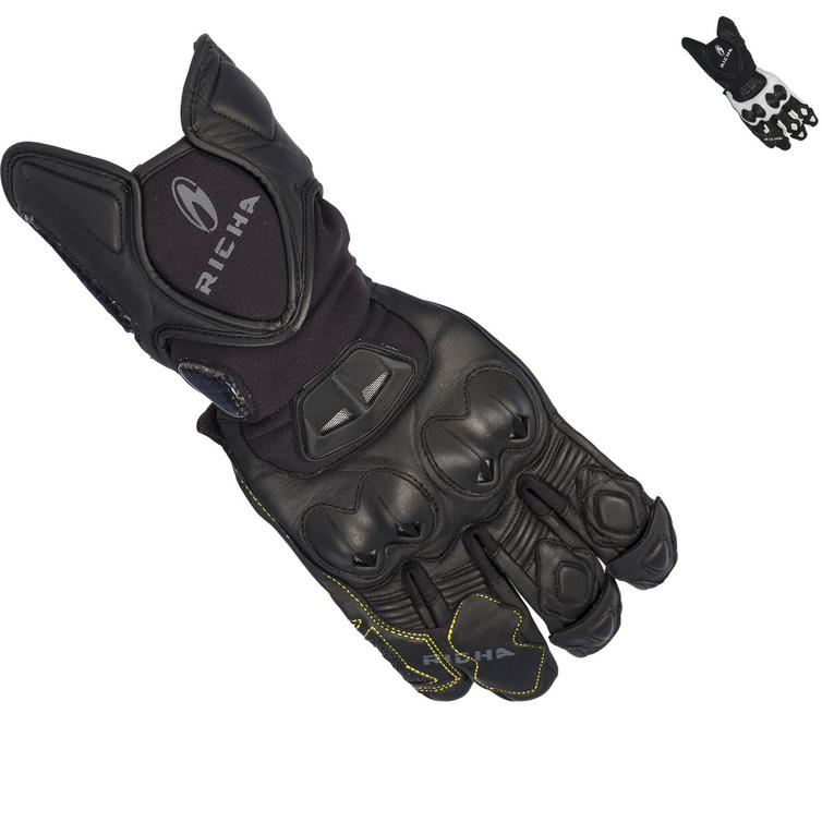 Richa Suzuka Leather Motorcycle Gloves