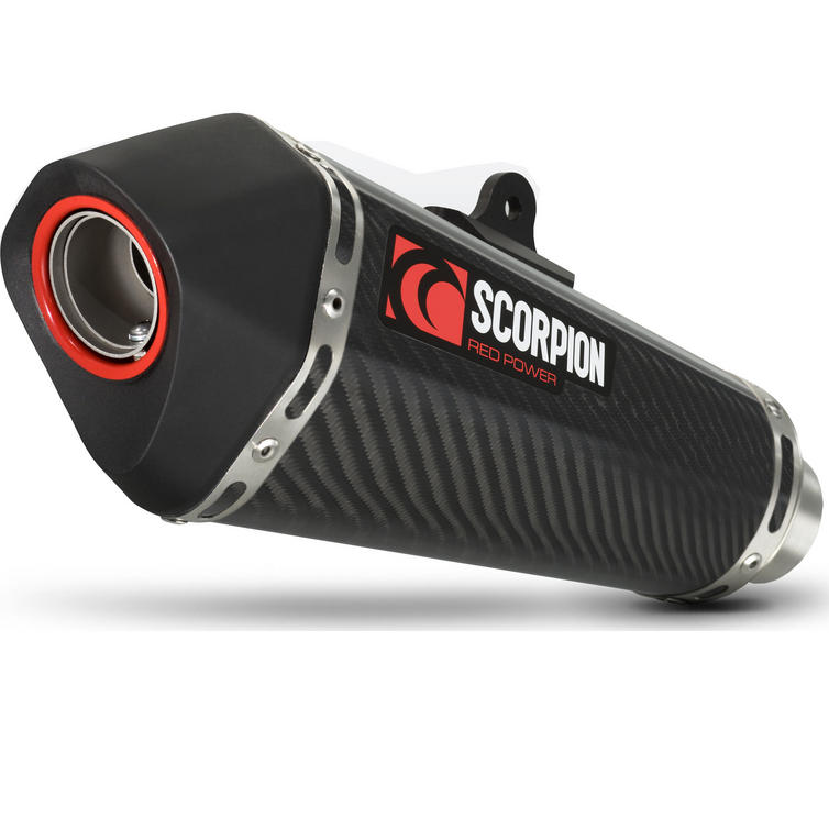 Scorpion Serket Taper Carbon Oval Exhaust - Suzuki GSX-S 750 17-18