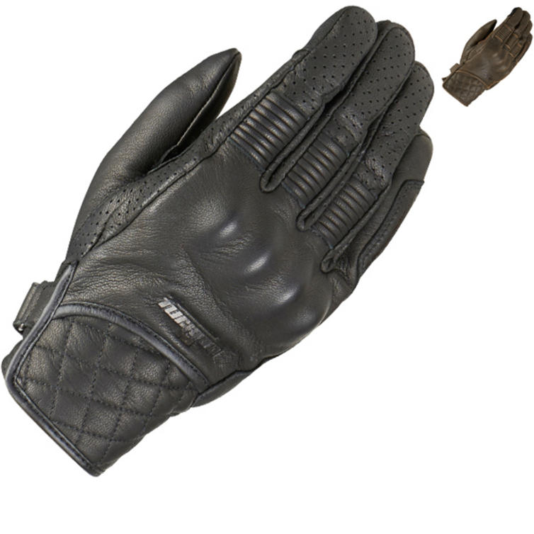 Furygan Tom D3O Leather Motorcycle Gloves