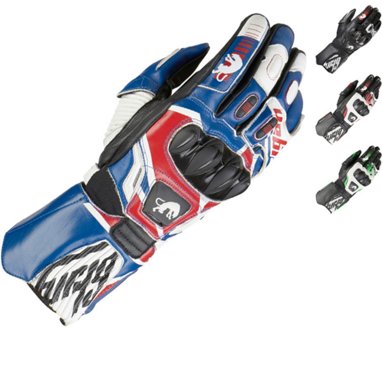 Furygan Fit-R 2 Leather Motorcycle Gloves