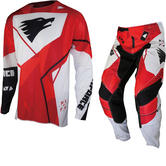MX Force VTR4 Rock-S Motocross Jersey & Pants Red Kit
