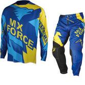 MX Force AC-X Maxix Motocross Jersey & Pants Blue Kit