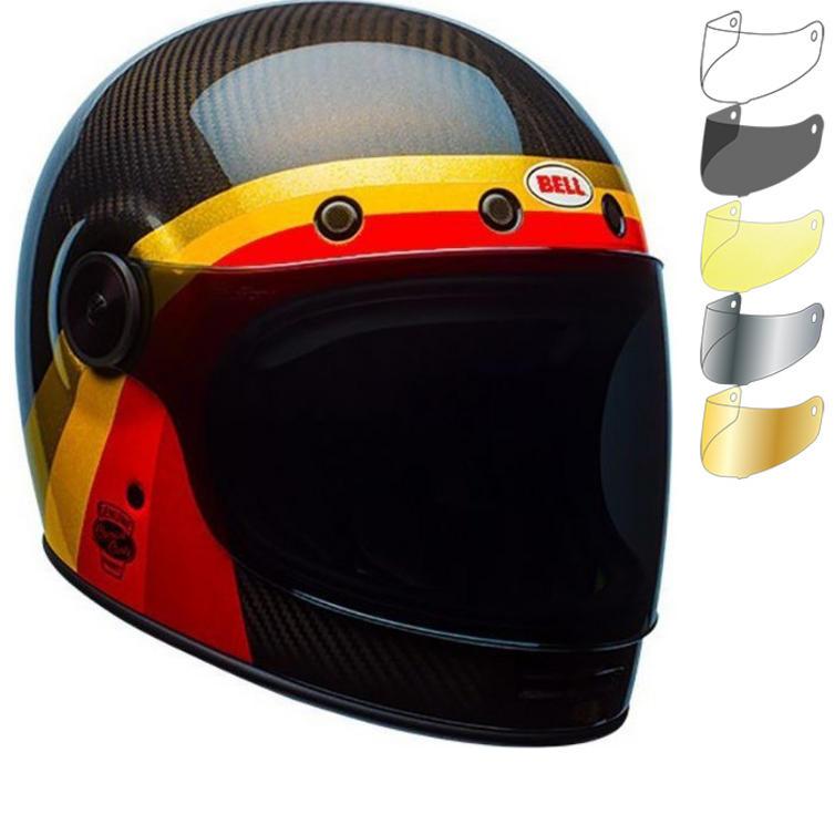 Bell Bullitt Carbon Chemical Candy Motorcycle Helmet & Visor