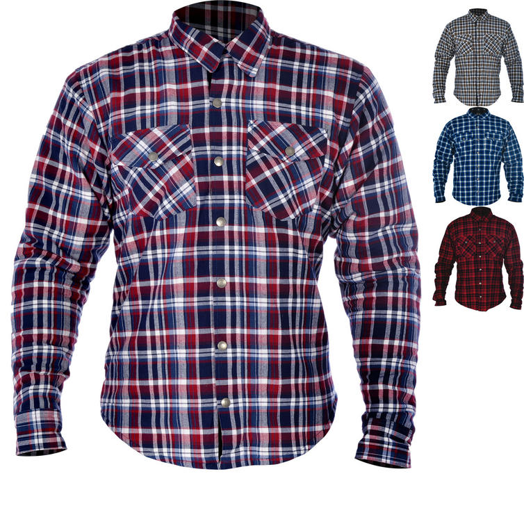 Oxford Kickback Motorcycle Shirt