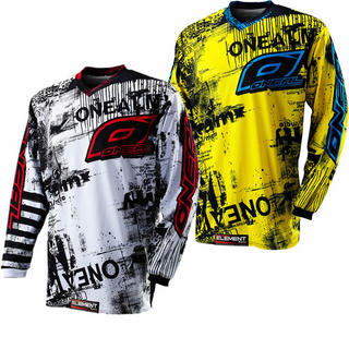 Oneal Element Kids 2012 Toxic Motocross Jersey