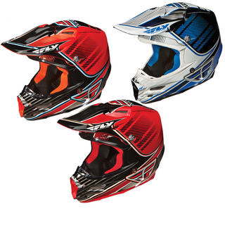 Fly Racing 2012 F2 Carbon Trey Canard Replica Motocross Helmet
