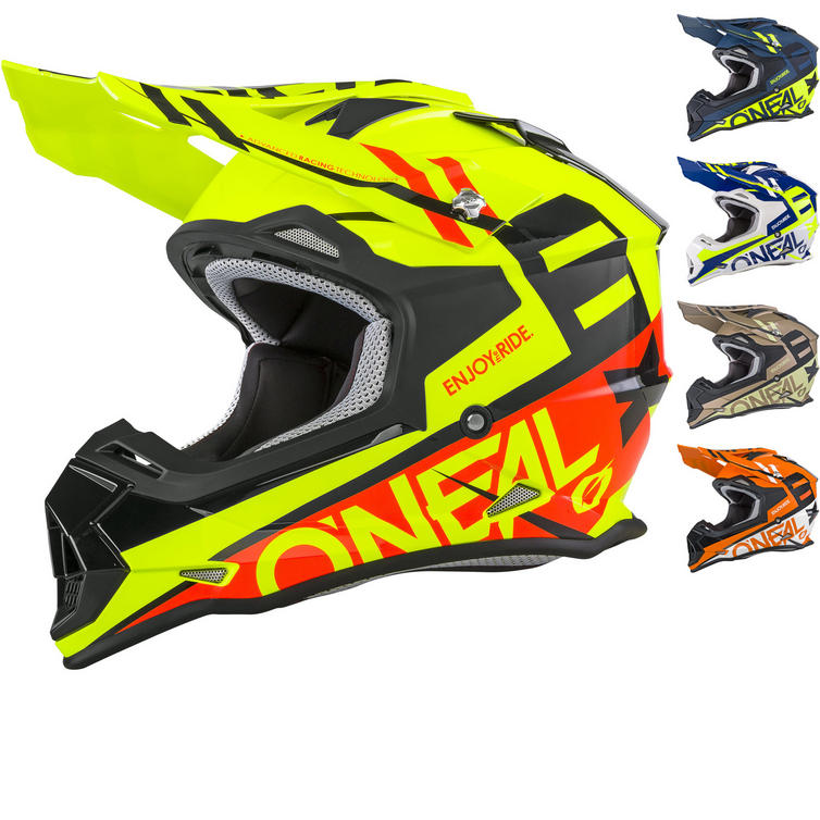 Oneal 2 Series RL Spyde Motocross Helmet