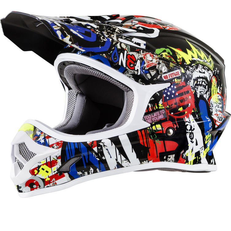 Oneal 3 Series Rancid Motocross Helmet