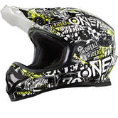 Oneal 3 Series Attack Youth Motocross Helmet