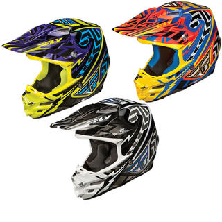 Fly Racing 2012 F2 Carbon Andrew Short Replica Motocross Helmet