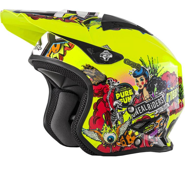 Oneal Slat Crank Trials Helmet
