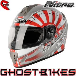 View Item Nitro NGFP Japan Motorcycle Helmet