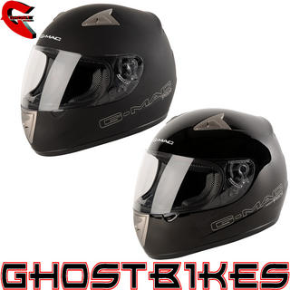 View Item G-Mac Pilot Full Face Motorcycle Helmet