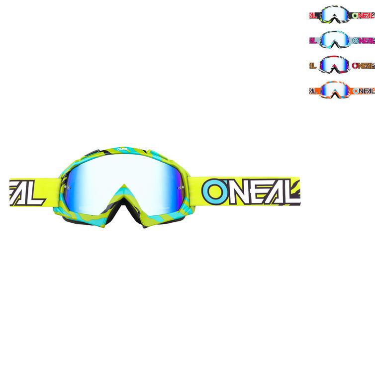 Oneal B-10 Stream Radium Motocross Goggles